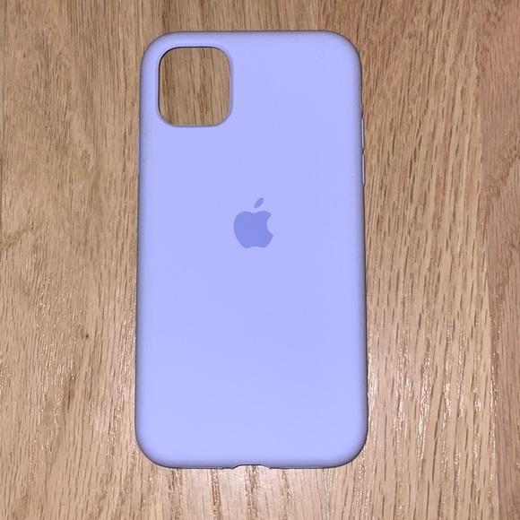 iPhone 11 Purple Silicone Case